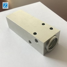 China OEM supplier cnc machined service 6061/6063/7075 anodized aluminum extrusion machining milling center part