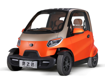 2018 cheapest electric mini car EEC 2 seater electric auto with air condition