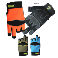 Change color design suitable size industrial work gloves price
