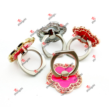 Reusable Metal Ring Phone Holder Rotating Finger Ring Grip for Smartphones (SPH51016)