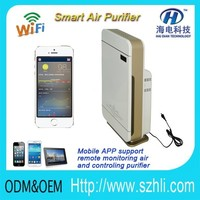 2017 Formaldehyde sensors /PM2.5 sensor/ Decoration pollution air refresh wireless air quality purifier
