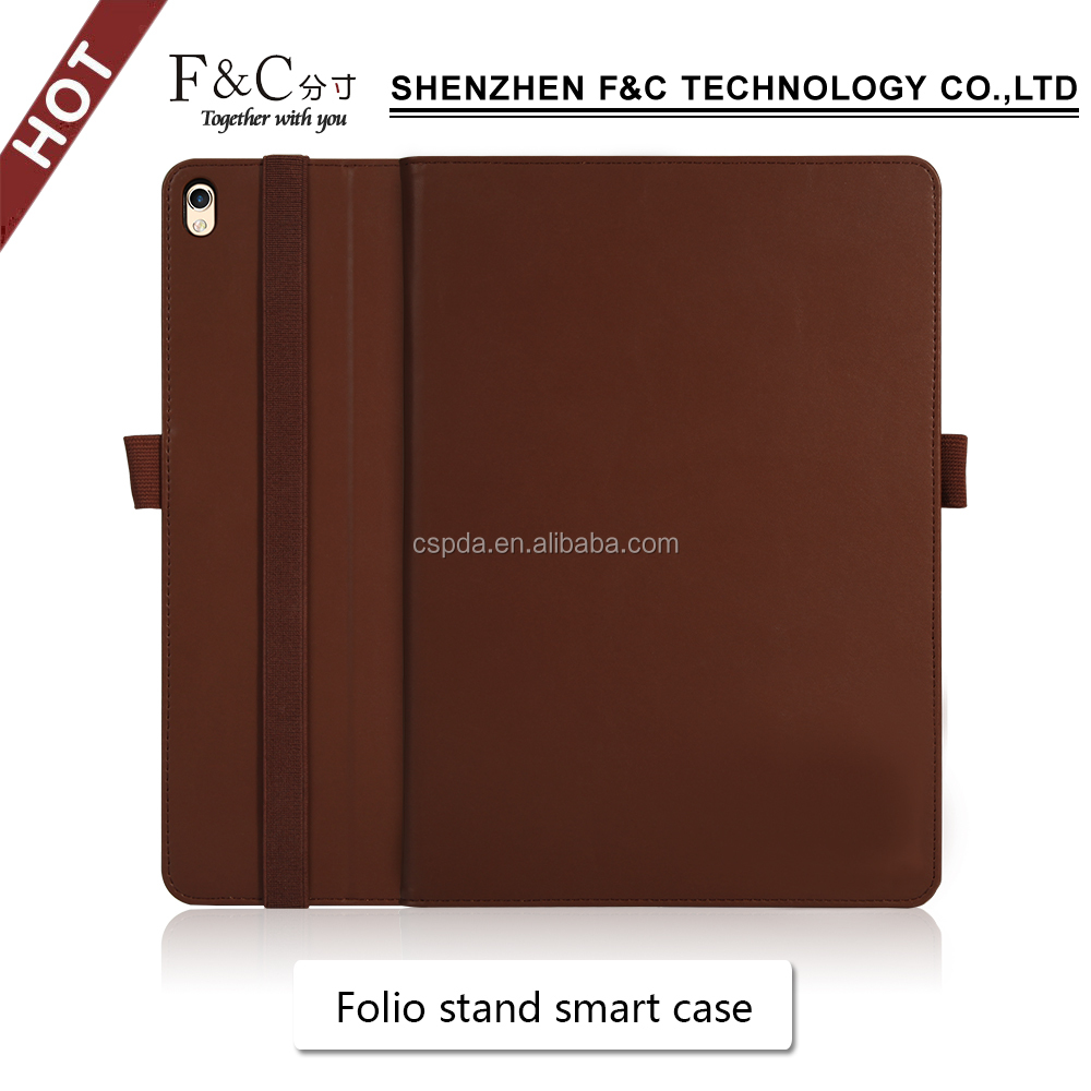 new fashion leather cover for ipad case genuine leather sleeve for ipad mini PU leather case for ipad pro10.5