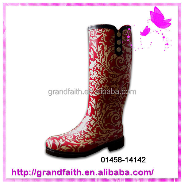Cheap and high quality womens rubber rain boots