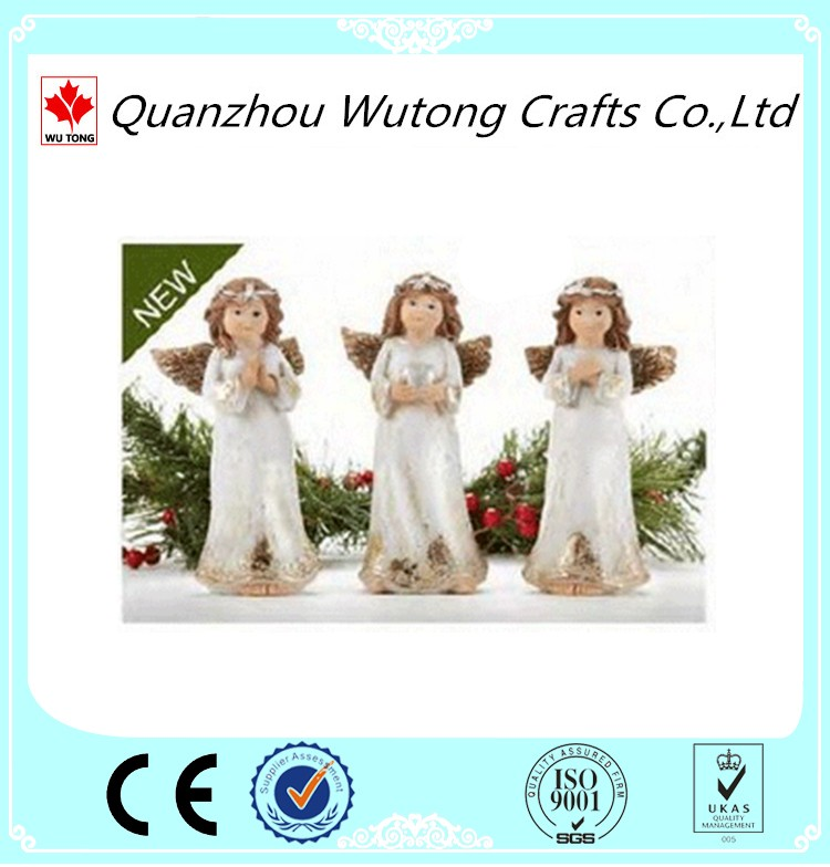 Resin Figurine White Little Angels Models