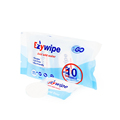 Ezywipe disposable facial towels with compressed coin tissue in rayon material for travel business trip