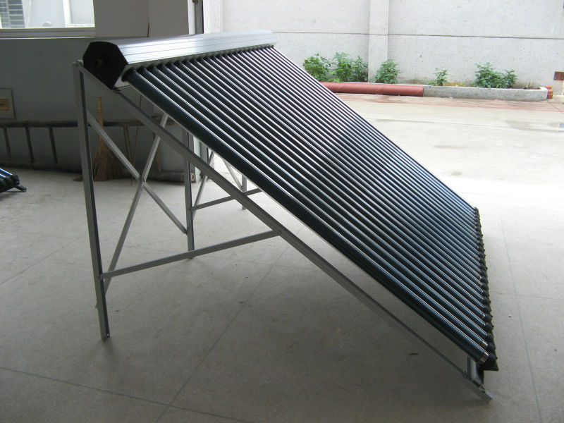 Concentrated Vacuum Tube Thermal Solar Collector (heat pipe & EN 12975 )