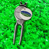 2016 Customized golf ball marker and magnetic divot tools for wholesale