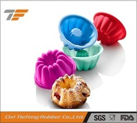 silicone mini muffin cups