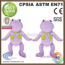 Purple Standing High Plush Personalized Stuffed Animals Toys