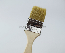 Long Wooden Handle Paint Brush Tin Plated Ferrule Elbow Brush Manufacturer