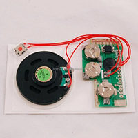 New custom 3D greeting card sound module with voice recording