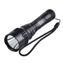 Waterproof lamp high power XM-L T6 LED scuba diving flashlight with 18650 battery