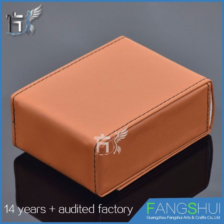 Fast delivery cube hard case credit card holder