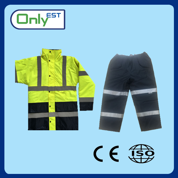 Hot selling Motorbike breathable high visibility safety reflective custom coats