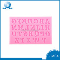 Cheap Price Silicone Alphabet Cake Mould