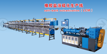 rubber salt-bath curing & vulcanization machinery / LCM salt-bath vulcanization machine