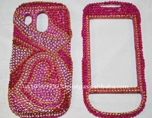 Top Quality for Samsung Caliber / R850/R860 brand new Crystal Bling Snap on Faceplate Diamond Case