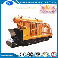Trade Assurance security coal fired chain grate stoker steam coal boiler power plant for sale