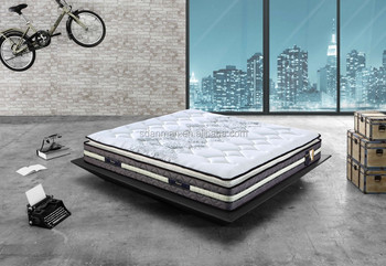 comfort pocket spring with euro top latex mattress (ML014)