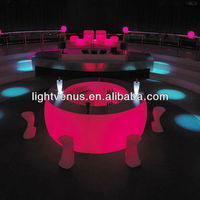 lighted bar counter top