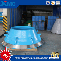 HC metso hp series cone crusher bowl liner spare parts for cone crusher