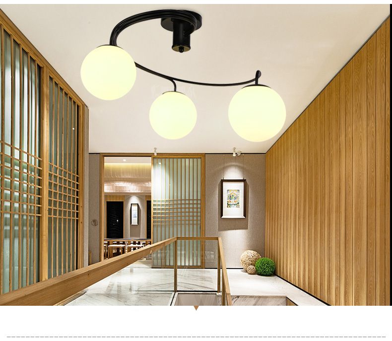 Loft Retro industry American style country Art lighting Restaurant Internet cafes glass metal Pendant lamp