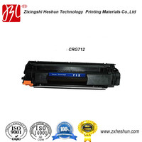 2015 factory directly sale ISO certificated best price high quality compatible toner cartridge for Canon CRG712