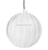 high quality striped glass ball,christmas glass ball ornaments