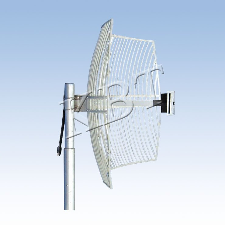 2500-2700MHz 24dBi Long-Range Directional Square Grid Parabolic MMDS Antenna
