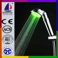C-138 LED pumped electric shower healthy therapy ABS romantic hand shower
