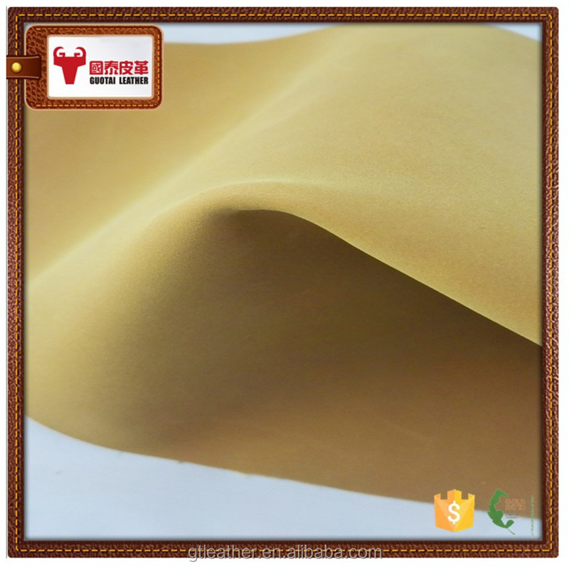 Wholesale genuine nubuck cow split leather hides