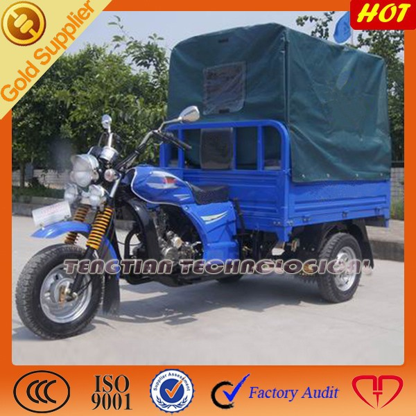 250cc chinese motorcycle with roof /three wheel cargo motorcycles