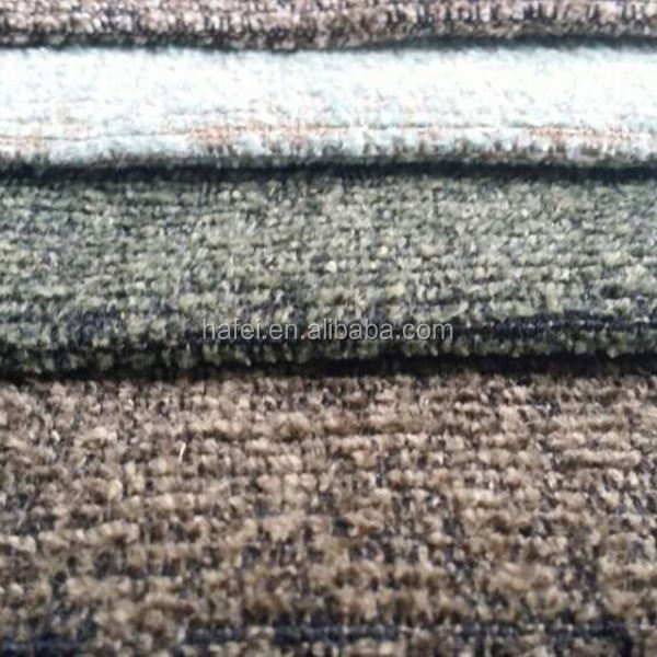 Luxury 100% polyester polyester knitted fabric chenille