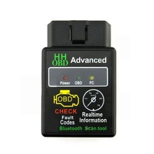 HH OBD MINI ELM327 Torque Android Bluetooth OBD2 OBDII CAN BUS Check Engine HH ELM 327 Bluetooth Auto Scanner ECU Code Reader