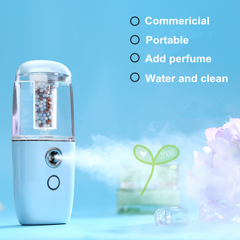 Wholesale new design easy use perfume rechargeable small car air purifier ionizer