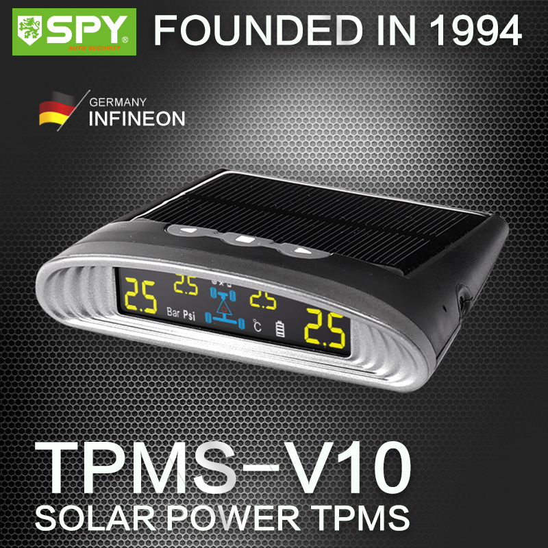 Solar power tpms, CE certificate, pressure max 50psi or 99psi