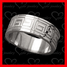 High quality man tungsten ring hand made man ring jewelry