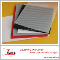 HOT SALES eco-friendly pp hollow sheet/polypropylene corrugated plastic sheet