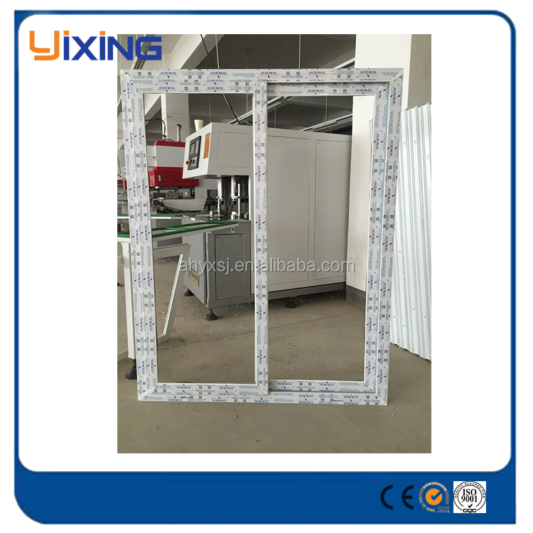 Factory best price plastic window pvc profiles upvc windows and doors