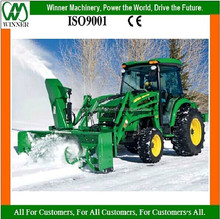 tractor front loader mounted snow blower