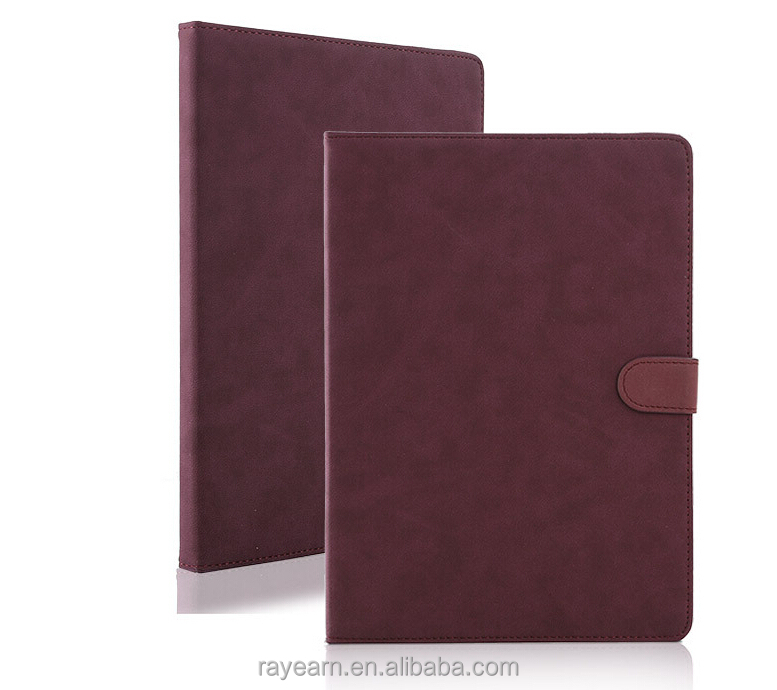 IOS Tablet Case For iPad 2/3/4/5 Genuine PU Business Style Tablet Cover