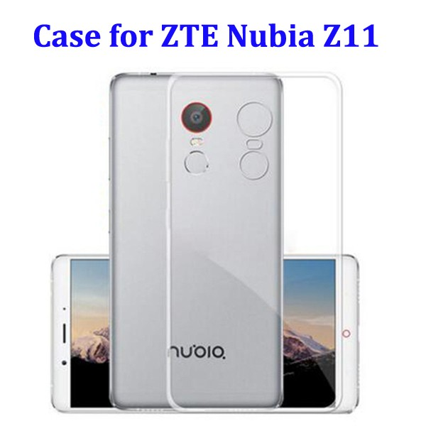 New Arrival Ultrathin Phone Case for ZTE Nubia Z11 Transparent Case