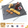 SLATE CHEESE BOARD WITH ZINC ALLOY HANDLE 35*25CM
