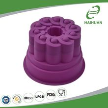 Customized factory supply 12/24 round cup silicone baking mold