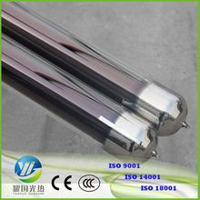High Borosilicate Glass Three Target Solar Vacuum Tube 58Mm Diameter For Large Commercial Project
