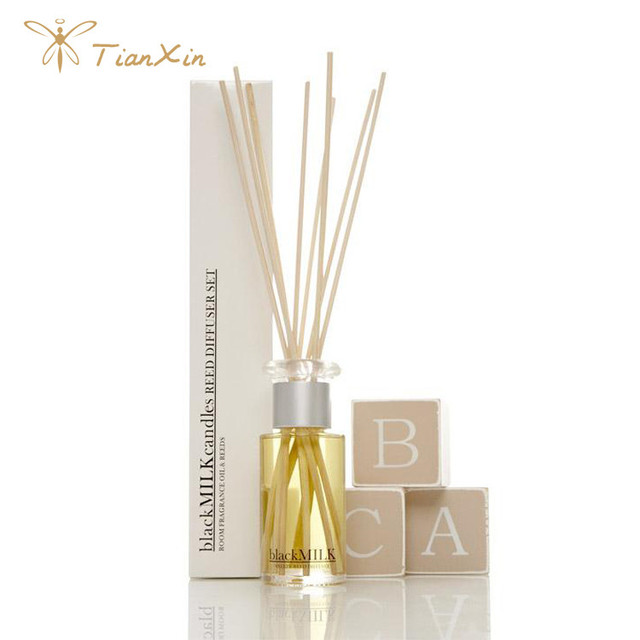 Tianxin factory supply whole set paper box Pumpkin oil reed diffuser