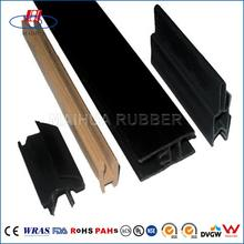 Nonstandard High Quality epdm extrusion rubber edge for sheet metal seal strip