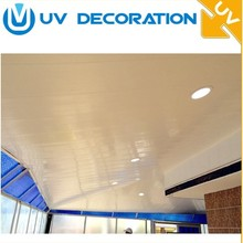 pvc ceiling and wall cladding sheet garage washable PVC wall panels ceiling sheet