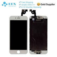 Mobile Phone Parts For iPhone 6 LCD Screen Assembly Brand New White