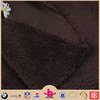 Cheap 100% polyester sherpa fleece knitted fabric
